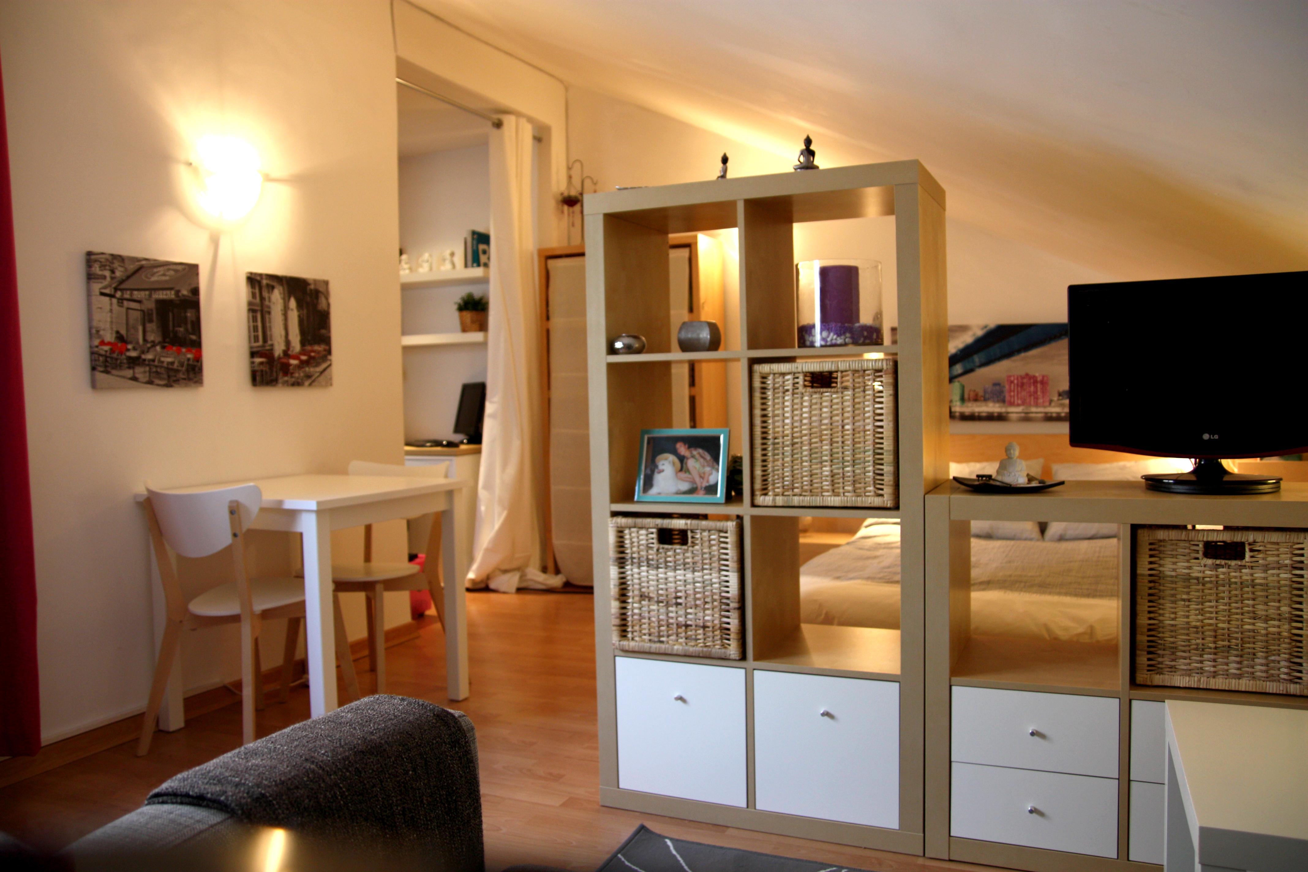 El loft de tania affordable design for real life - Cajones de mimbre ...